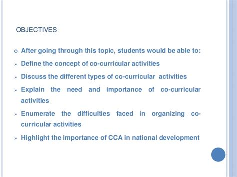 Essay On Importance Of Co Curricular Activities In Students by Co Curricular Activities In School Essay
