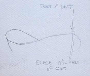 how to draw a boat figure 8 or how to draw a boat from a figure 8 thanks to maureen