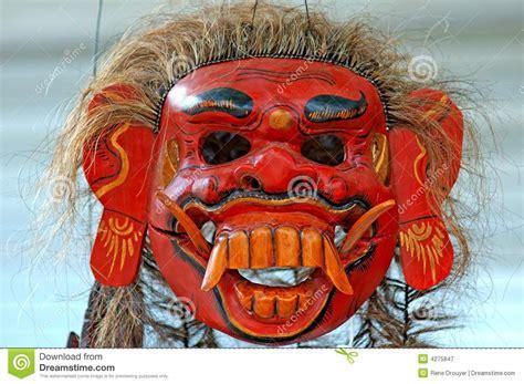 Masker Java indonesi 235 java masker royalty vrije stock fotografie
