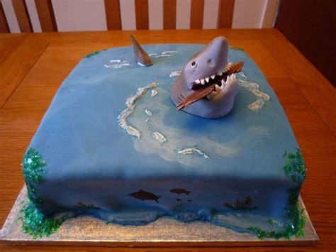 shark cakes decoration ideas  birthday cakes