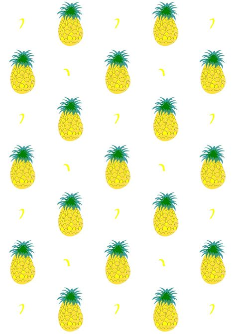 meinlilapark free digital fruity pineapple scrapbooking
