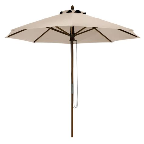 Bamboo Patio Umbrella Hton Bay Belleville 8 Ft Patio Umbrella In Ucs00404d The Home Depot