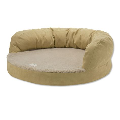 orvis dog bed bolster dog bed bolster bed with memory foam orvis uk