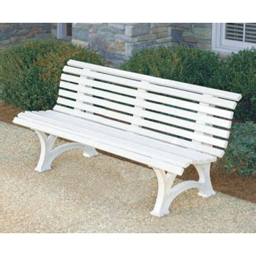 white plastic bench florida bench white plastic resin hd supply resin bench