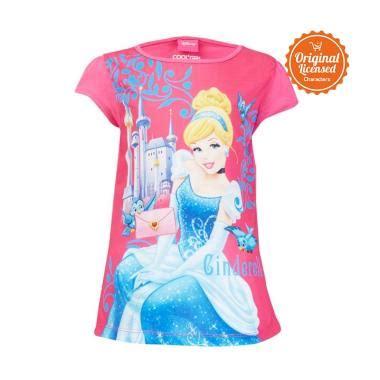 Baju Disney Original Polo Shirt Anak Princess jual baju cinderella daftar harga spesifikasi terbaik blibli