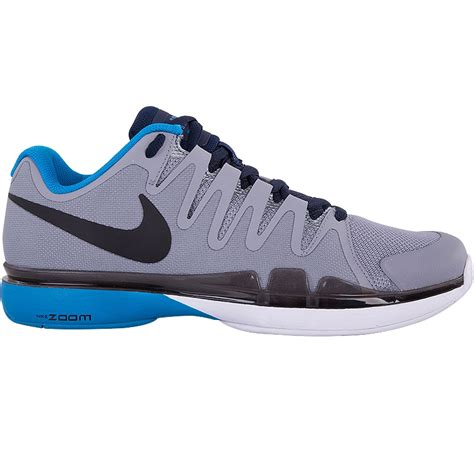 nike zoom vapor 9 5 tour s tennis shoe grey blue