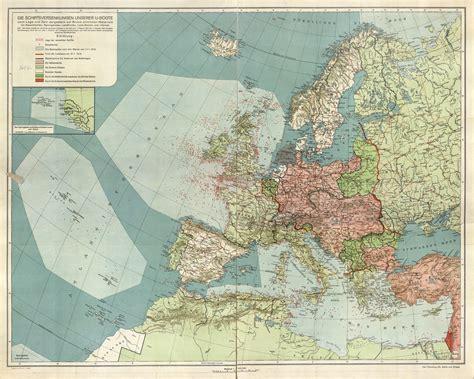 ships sunk by u boats ww1 ships sunk by german u boats feb 1917 fe 1918 map ww1