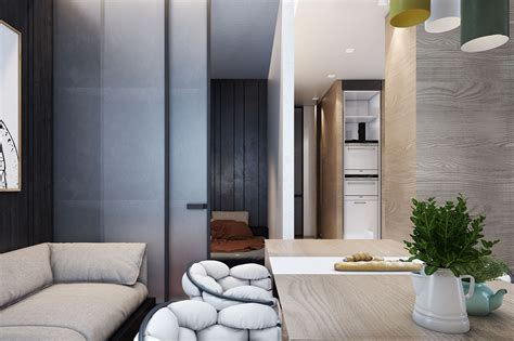 Door Apartments by Small Apartments That Go Big With Bold Decor Themes