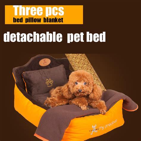 my pillow pet bed aliexpress com buy detachable washsble 3 pieces set pet