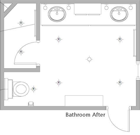 Bathroom Floor Plans by Bathroom Floor Plan After