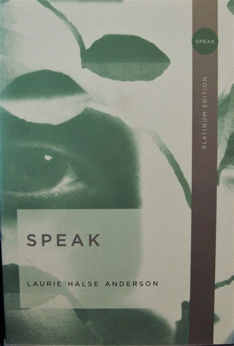 Speak By Laurie Halse Essay by 301 Moved Permanently