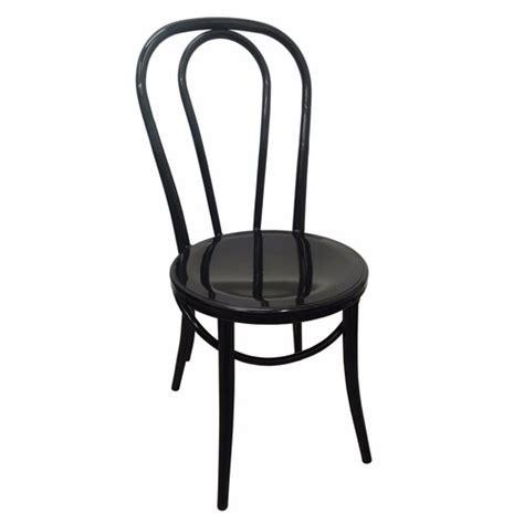Metal Thonet Chair by Replica Thonet No 18 Bentwood Metal Retro Dining Chair Black