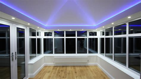 led lighting systems conservatory roofs east