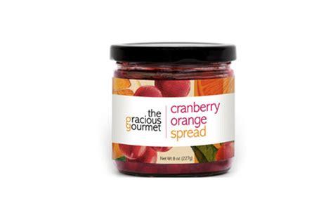 the gracious gourmet cranberry orange spread