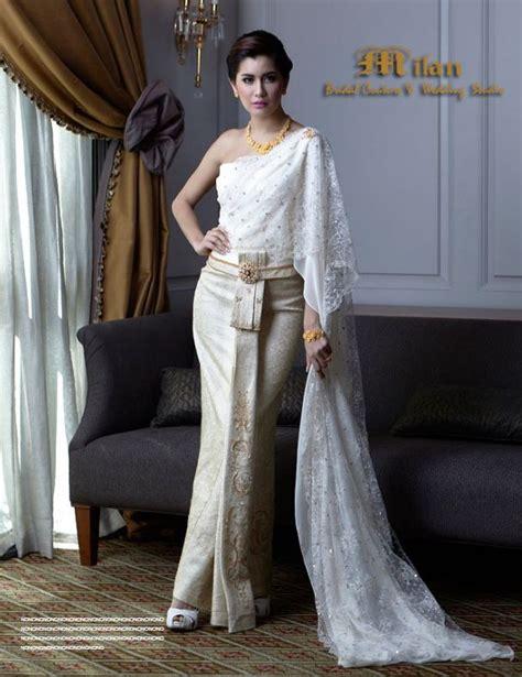 Thai Wedding by Thai Wedding Dress Traditional Thai Dresses