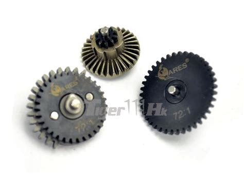 Gear Setgir Set Tiger 1 ares high torque steel 72 1 gear set airsoft tiger111hk area