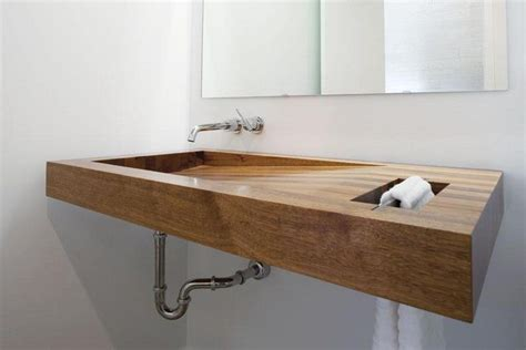 wood bathroom sink wooden sink befon for