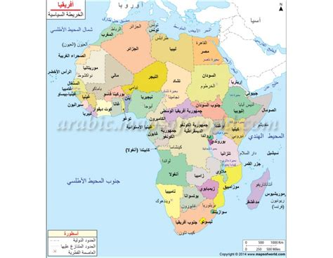 Map of the world in arabic akersart map of the world in arabic africa political map in arabic gumiabroncs Images