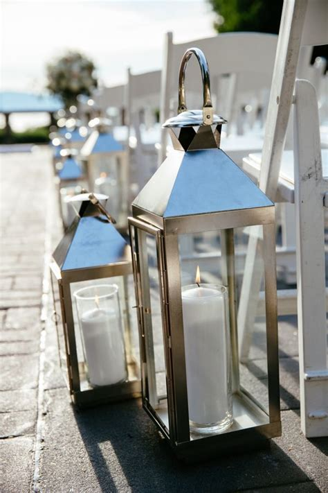 creative lanterns wedding aisle decor ideas deer