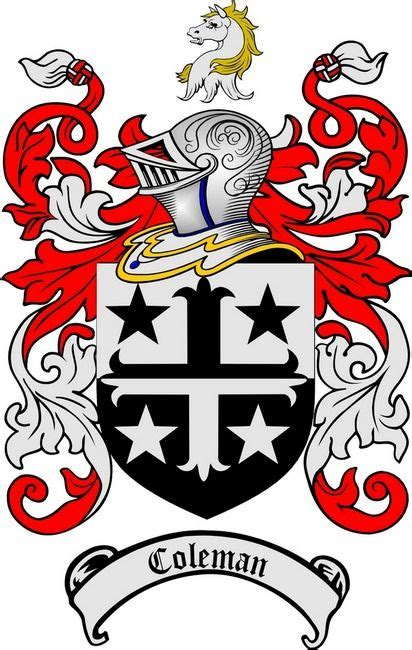 family crest tattoo designs coleman family crest coleman coat of arms coleman coat