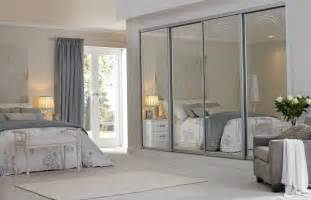 add style to your bedroom with a glass wardrobe