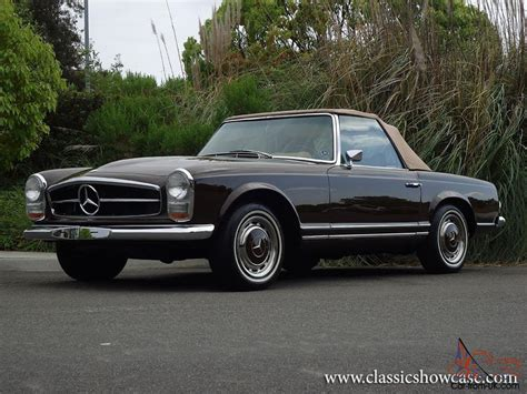 1969 mercedes 280sl 1969 mercedes 280sl pagoda roadster