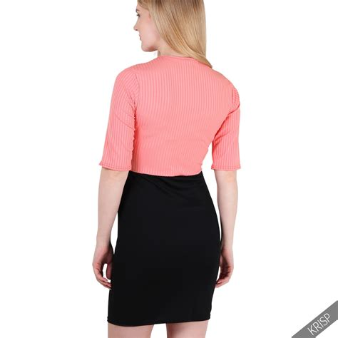 maternity stretch bodycon sleeve dress high waist