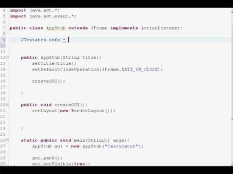 java gui swing tutorial java gui tutorial swing borderlayout youtube