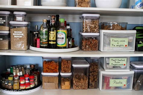 How To Organize A Kitchen Without Pantry by How To Organize Your Pantry By Cookin Canuck Organizati