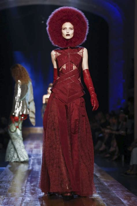 Who Wore Jean Paul Gaultier Better by Jean Paul Gaultier Couture Fall Winter 2016 Nowfashion