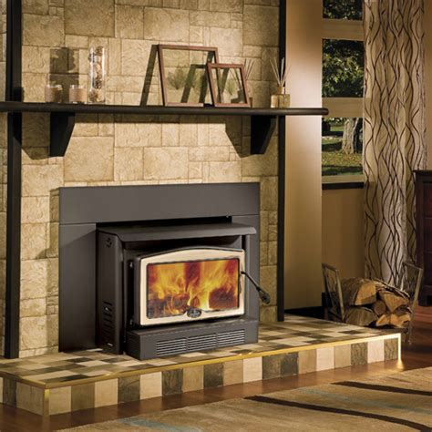 Wood Fireplace With Blower by Osburn 2400 High Efficiency Epa Woodburning Insert With Blower