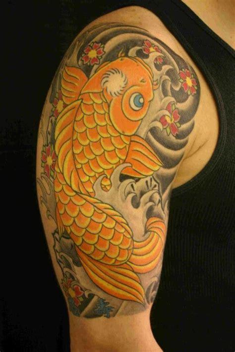 tattoo pez koi en el brazo tatuajes de pez koi 187 ideas y fotograf 237 as