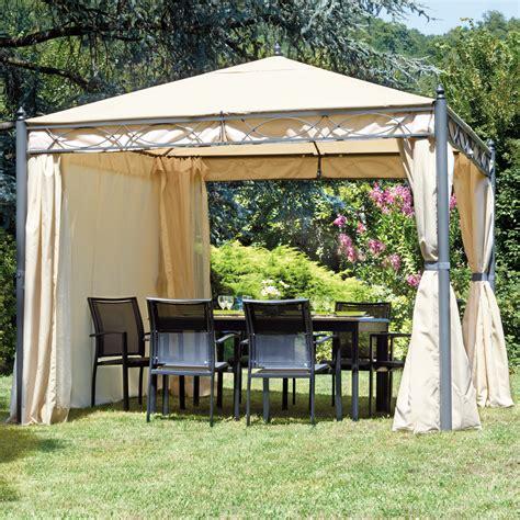 tende per gazebo 3x3 gazebo quadrato 3x3 da giardino completo di tende e