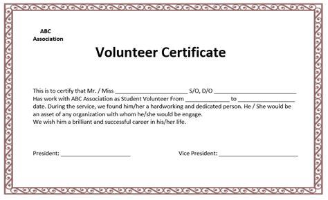 governor s volunteer recognition certificate nevada volunteers