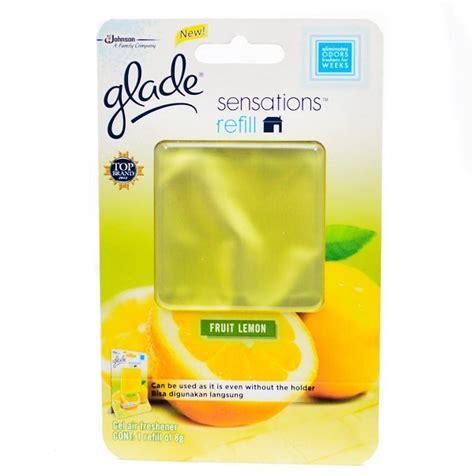 Glade Sensation Serenity Refill 8gr خوشبو کننده خودرو glade مدل fruit lemon فروشگاه اینترنتی اروندکالا