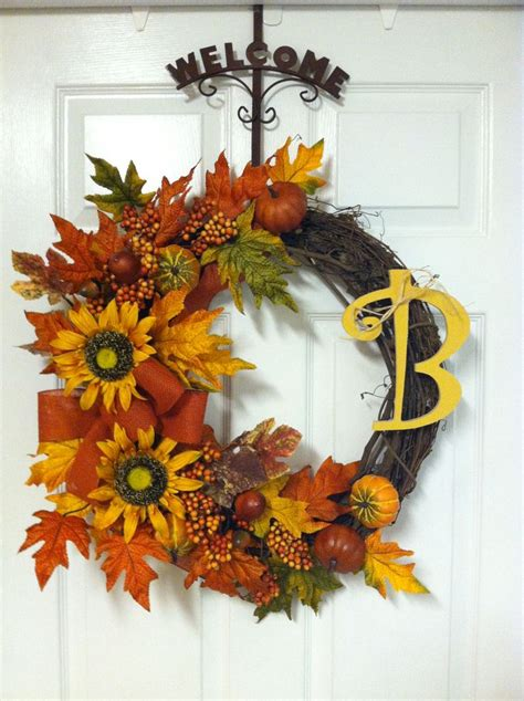 Front Door Wreaths For Fall Fall Wreath For The Front Door Fall Sh Like Like
