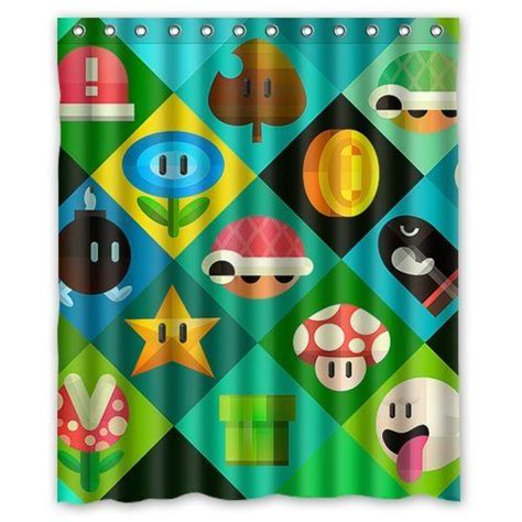 nintendo shower curtain 1786 best super mario images on pinterest