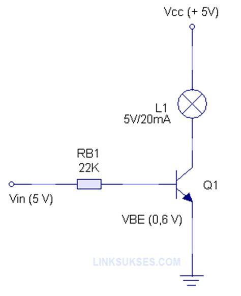 hfe transistor adalah transistor sebagai saklar link sukses