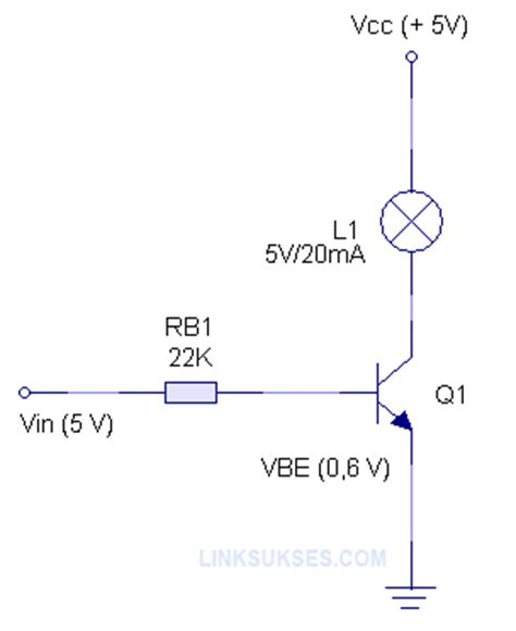 transistor yang difungsikan sebagai saklar transistor sebagai saklar link sukses