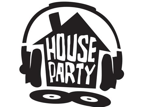 house party house party font sign ideas house party stage pinterest