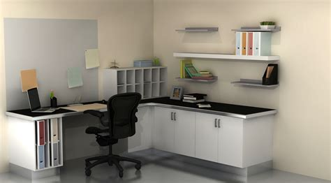 Ikea Office by Useful Spaces A Home Office With Ikea Cabinets