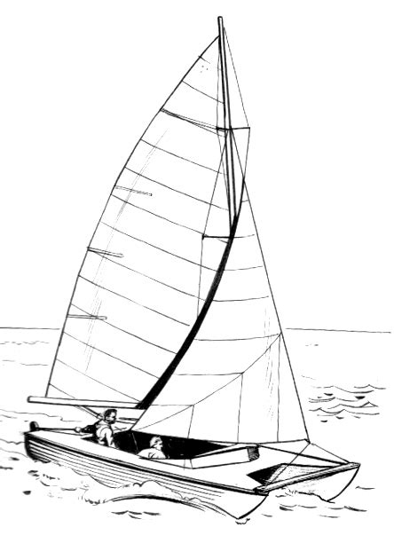 catamaran drawing file catamaran psf jpg wikimedia commons