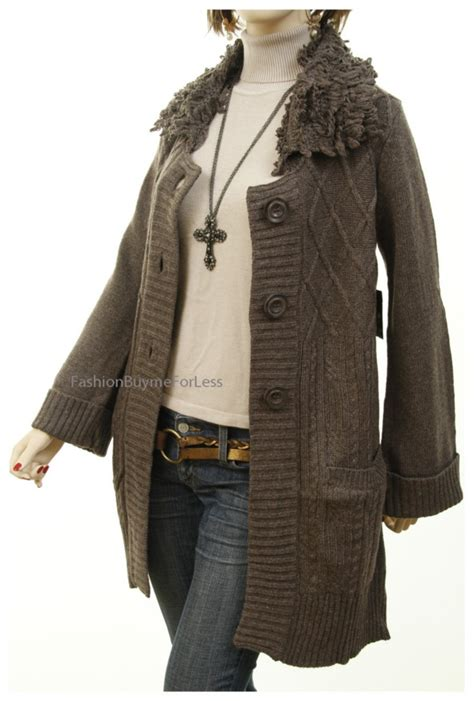 knit coat catalog wool angora cable knit cardigan
