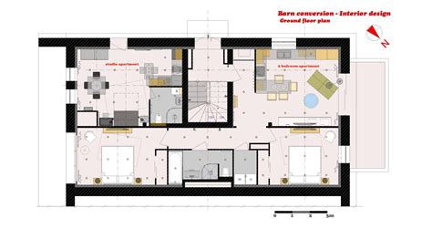 Barn Conversion Floor Plans by Arcbazar Com Viewdesignerproject Projectinterior Designs