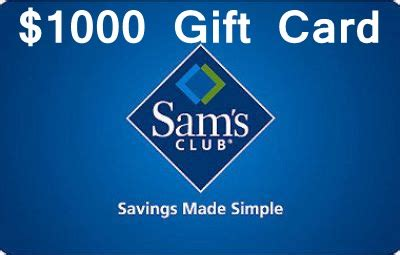 Sam S Club Gift Card Survey - www survey samsclub com sam s clusb is giving away 1000 gift card in its survey