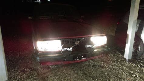 beleuchtung vorne am fahrzeug beleuchtung vorne volvo 240 turbo