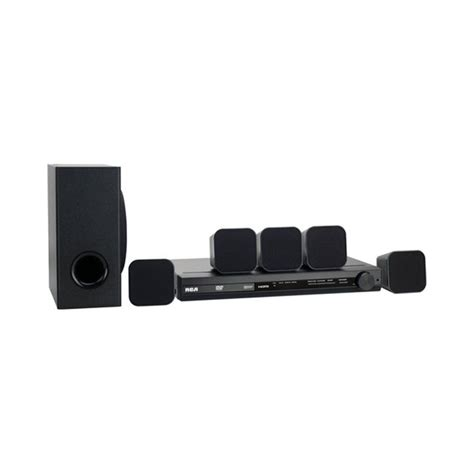 rca rtd3136eh rb refurbished 100 watt home theater system