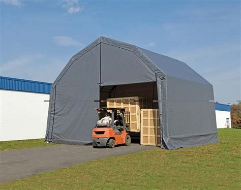 20 ft x 18 ft portable garage shelters instant rv