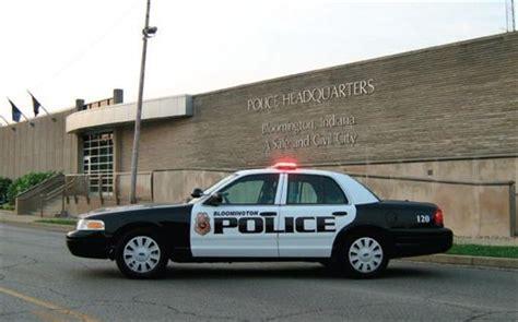 Bloomington Indiana Arrest Records Bloomington Indiana Emergency Vehicles