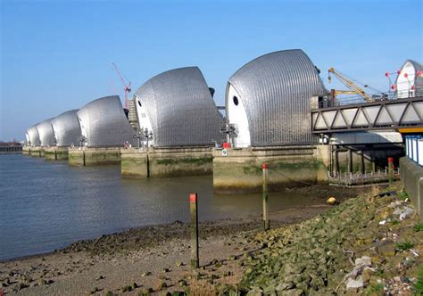 thames barrier built panoramio photo of thames barrier
